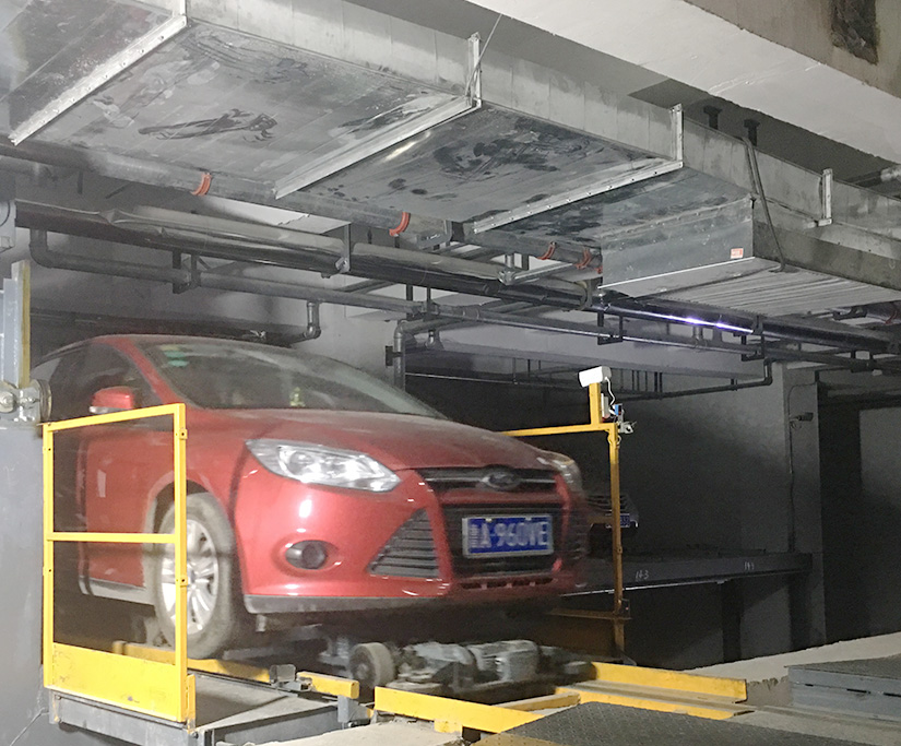 automated parking system project case