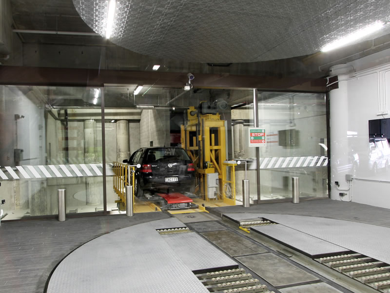 Automated Robot Mechanical Parking System