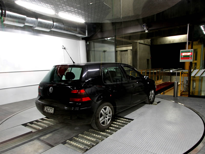 trans elevator automated parking