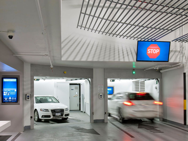 public automated parking solutions
