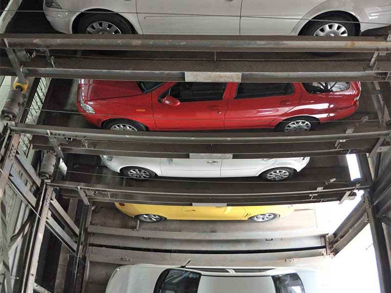 multi-layer parking system project