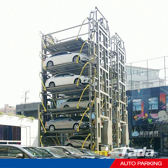 rotary mechanical parking system