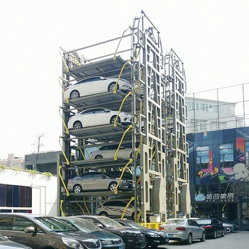 rotary carousel parking system