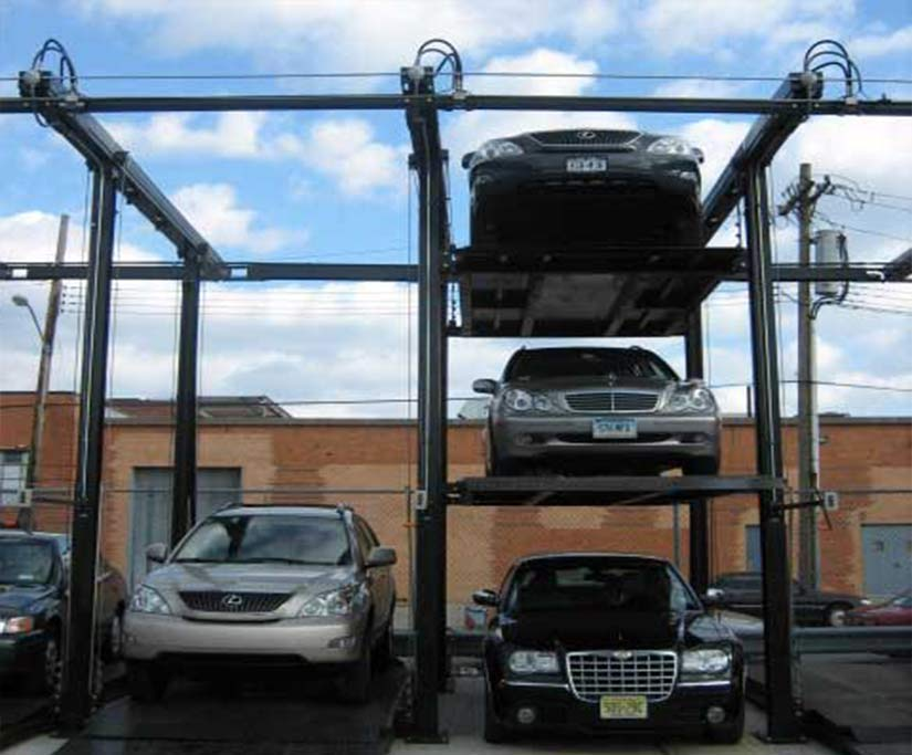 triple stack parking system