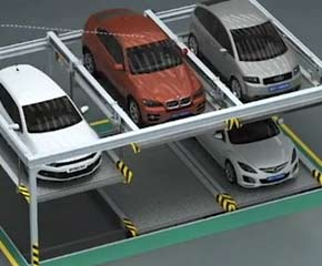animation videos of puzzle parking system