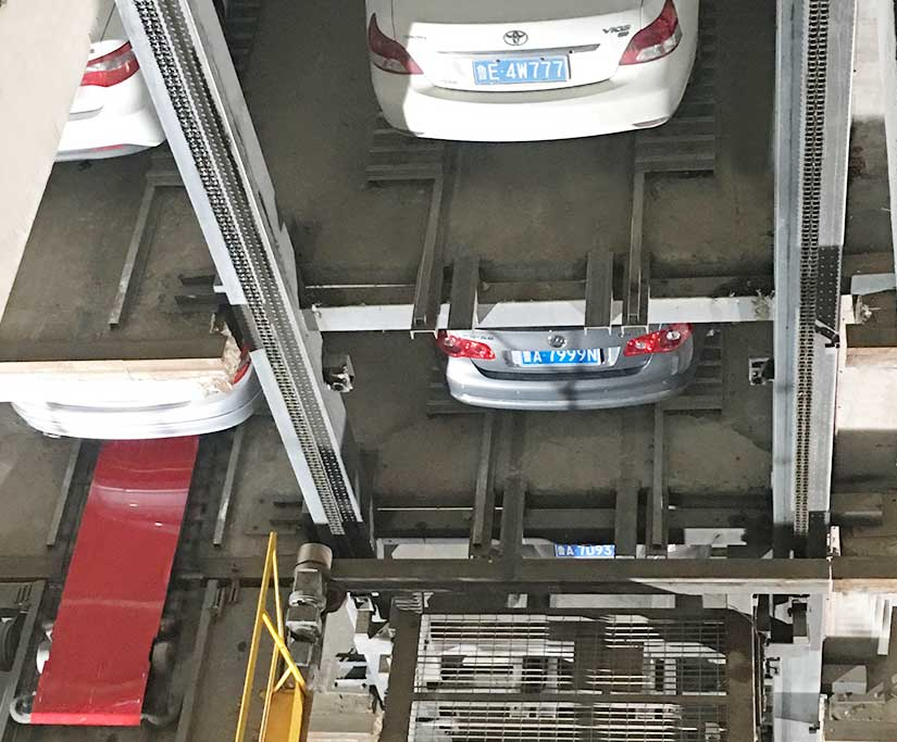 automated parking system pictures