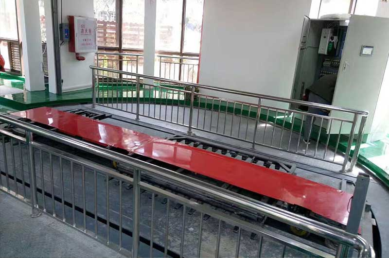 China automated parking project under the ground
